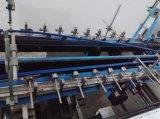 Linha reta de alta velocidade caixa ondulada que dobra-se colando a máquina (GK-1050G)