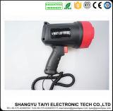 lampe-torche tenue dans la main rechargeable du CREE DEL de 10W 800lm