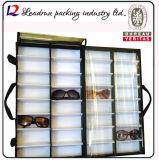 Caso de visualización de lujo del vidrio de Sun de la buena calidad (X029)