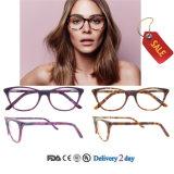 De Optische Glazen Eyewear van de Glazen van het Voorschrift van de manier met Ce en FDA
