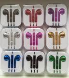 제조자는 iPhone 이어폰을%s 다중 색깔을 만들었다