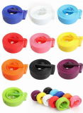 Способ Eco-Friendly Colorful Silicone Belt с Alloy Buckle (BZPD001))