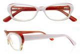 2016 de populaire Frames van de Acetaat van de Frames van de Glazen van het Oog van de Kat Optische met Ce en FDA