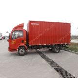 El más barato 8t Sinotruk 4X2 Pequeña Caja refrigerada de camiones