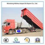 De achter Vrachtwagen van de Stortplaats/de Semi Aanhangwagen van de Kipper van Fabrikant