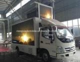 4X2 Foton LED 승진 전시 트럭 5개 T 옥외 광고 Veicle