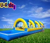 Misstap van het Water van de regenboog de Opblaasbare voor Zwembad