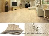Planche de luxe gravante en relief profonde d'étage de PVC en bois