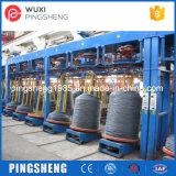 Низкоуглеродистый стальной провод Galvalization принимает вверх машину