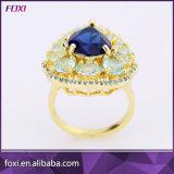 Комплект ювелирных изделий конструкции Бразилии роскошный синий