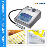 Verfalldatum und Code-Drucken-Maschine Cij Tintenstrahl-Drucker (EC-JET300)
