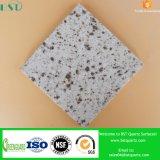 Dessus conçu décoratif d'île de stratifié de quartz
