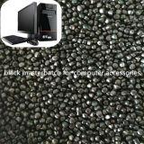 Negro de carbón del 35%, Masterbatch negro con la alta dispersión para los bolsos de basura, películas del pajote