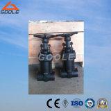 Fole de aço compato válvula de porta de solda selada das extremidades (GAWZ61H)