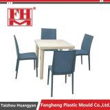 플라스틱 주입 Foldable 옥외 정원 테이블 의자 형