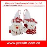 Hada de la Navidad de la manera de la Navidad de la decoración de la Navidad (ZY15Y075-1-2)