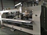 두 배 헤드 판지 상자 생산 라인을%s 자동 장전식 판지 상자 바느질 기계