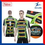 Camicia della squadra di rugby sublimata Digital di Healong Hotsale