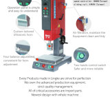 Máquina de solda de precisão ultra-sônica para peças plásticas