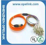 Шнур заплаты оптического волокна MPO/MTP