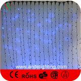 das decorações ao ar livre do Natal 600LEDs de 2X3m luzes brancas da cortina