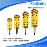 Fornitore idraulico dello scalpello del perforatore montato escavatore