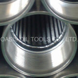 El receptor de papel de agua del acero inoxidable 316L que perfora el tipo de Johnson defiende el fabricante del tubo