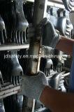 Усиленная перчатка работы отрезока упорная с PU (PD8046)