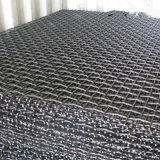 Acoplamiento de alambre minero prensado acero del manganeso