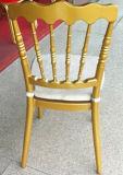 卸し売りアルミニウム結婚式のスタック可能ナポレオンの椅子(JC-NP01)