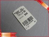 Étiquette de coup de papier de code barres de prix à payer de vêtement