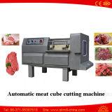 Máquina automática cortadora de corte de cubo de carne de frango congelada automática