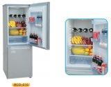 Refrigerador ereto 210L do estilo do CE da C.C. 12V 24V