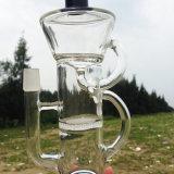 Il doppio meraviglioso ricicla i tubi di acqua di fumo di vetro di disegno (ES-GB-263)