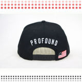 2016 sombreros del Snapback del bordado 3D con su insignia