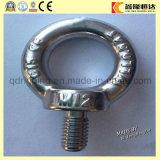 Norme de la noix DIN de boulon d'oeil d'acier inoxydable/oeil (coutume polie)
