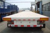 Aufhebung-Behälter-Transport Lowbed der Luft-3-Axles halb Schlussteil