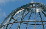 Cerco Tempo-Resistente do animal do engranzamento do jardim zoológico do aço inoxidável