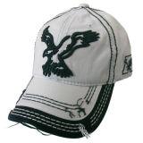 Gorra de béisbol lavada agradable con la insignia Gjwd1731j del águila