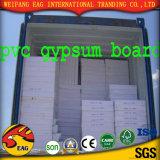 Белые плитки потолка гипса бумаги покрытия PVC цвета