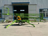Dirty signal! ! Articulated Towable Boom Top spin Trailer card Mounted Cherry Picker Man Lift for Dirty