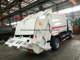 Isuzu 6 바퀴 5 M3 쓰레기 압축 분쇄기 쓰레기 트럭 트럭 5 톤 패물