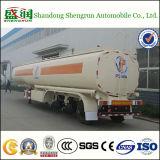 Camion resistente che conduce il rimorchio del serbatoio dell'olio dei 3 assi semi