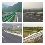 Steel Post를 가진 Aashto M180 Galvanized Steel Highway Guardrail