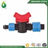 Valvole di plastica filettate agricole dell'acqua di irrigazione goccia a goccia