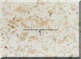 두 배 & 다중 색깔 석영 돌 석판 건축재료