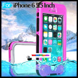 iPhone 6 Plus Fingerprint Underwater Phone Case Waterproof를 위해 덮으십시오