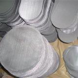 Disco tessuto della rete metallica dell'acciaio inossidabile Ss304