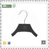 Вешалка одежд нового черного пластичного золота веек пластичная для индикации