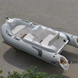 Mini venta del barco del deporte del barco del ocio del barco de la costilla de Liya los 3.3m